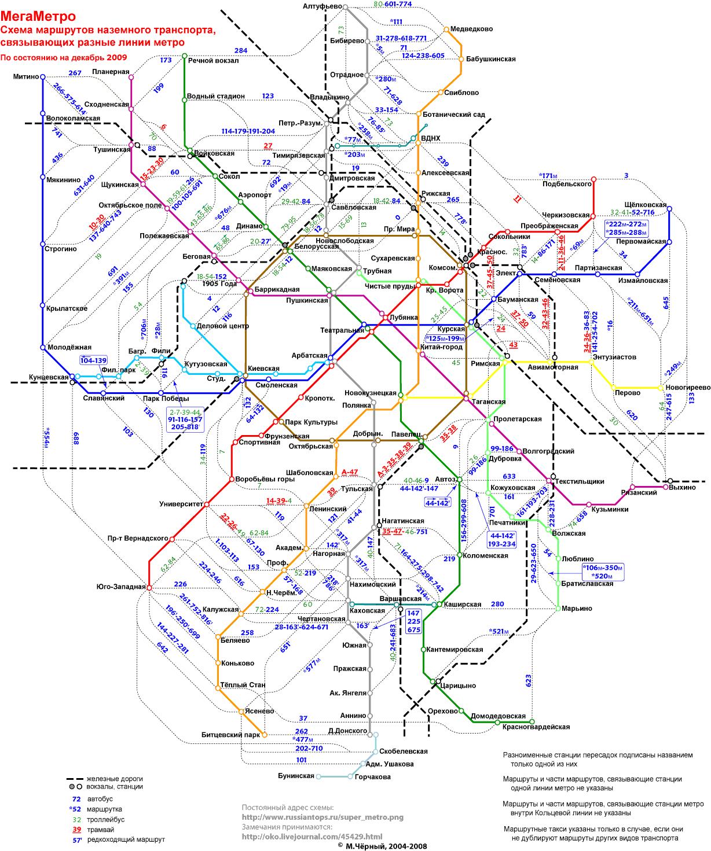 Москва схема городского транспорта фото 18